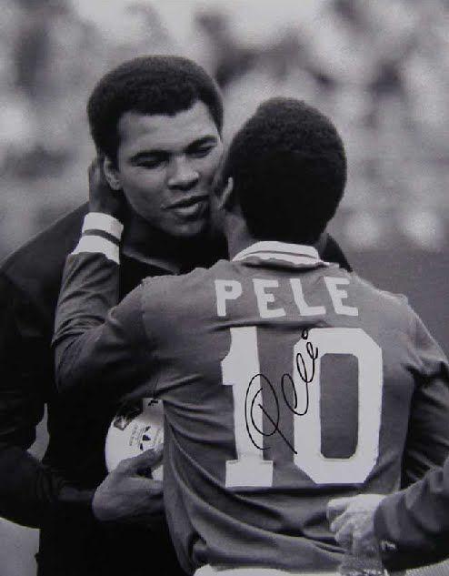 Pele + Ali www.supersoccersite.com | Repinned by @keilonegordon
