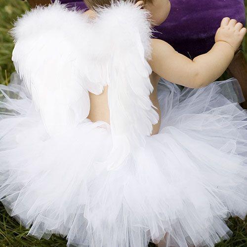 Designer Girls Nurseries With Posh Style 1-866-POSHTOT : Fairies Angels at PoshTots: Baby Tutu, Halloween Costume, Tutu Costume, Halloween Tutu, Tutu Dresses, Baby Girl, Baby Costume, Angel Baby, Angel Costume