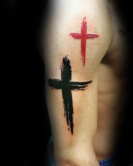 Pin En Tatuajes De Cruz