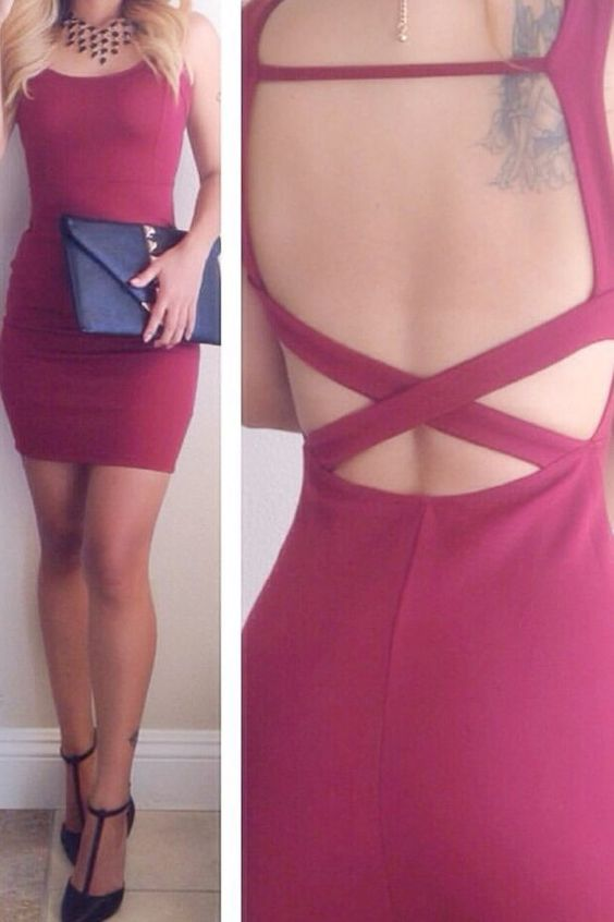 Elisa Cutout Back Dress (more colors)