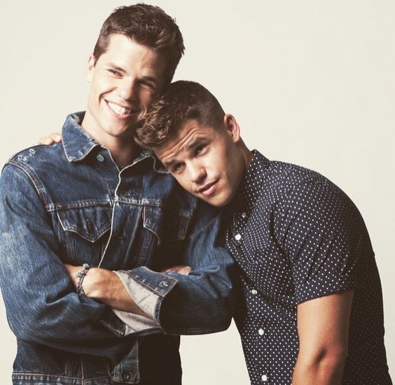 Teen Wolf ... Max and Charlie Carver as the alpha twins Aiden and Ethan