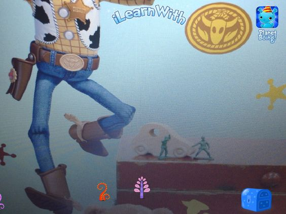 Sheriff Woody from iLearn With Planet Boing.