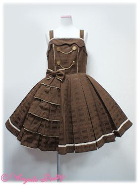 Angelic Pretty - Melty Royal Chocolate JSK in brown