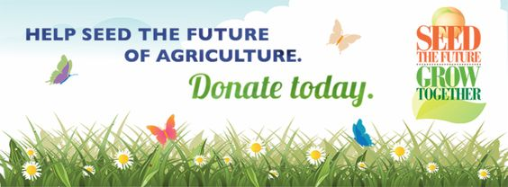 One of our points of pride is you, our donors. Your gifts and donations have made the work of the Foundation possible and we thank you for that.  Help Seed the Future of Agriculture,   Donate Today!