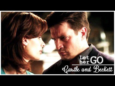 Castle Beckett Let Her Go 2x24 Youtube In 2021 Castle Beckett Castle Let Her Go