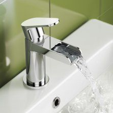 Cela Waterfall Basin Mixer Tap