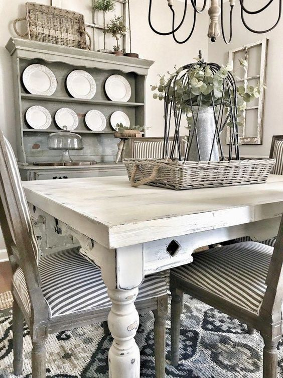 Farmhouse Style Dining Room Refresh | Bless This Nest #farmhouseInterior