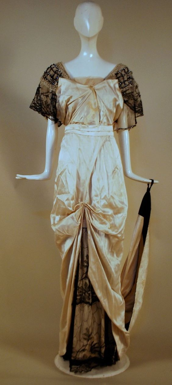 ca 1912 evening gown
