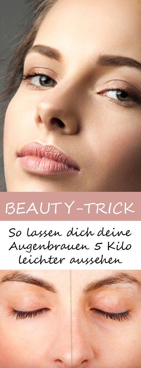 So lassen dich deine Augenbrauen 5 Kilo leichter aussehen >>>