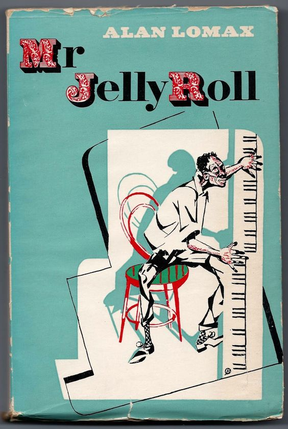 David Stone Martin - Mr Jelly Roll: