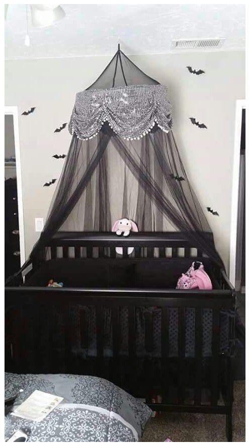 Goth Baby Nursery Gothbabynursery Goth Nursery In 2021 Nursery Baby Room Gothic Baby Baby Room Themes