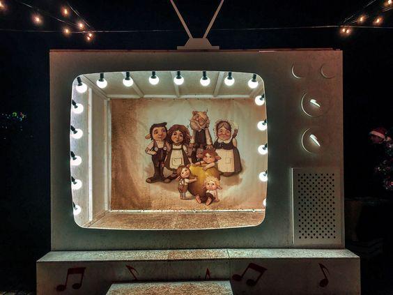 Телевизор для фото