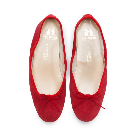 Porselli Red Suede
