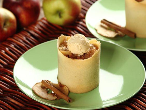 Sprawdzony przepis na Duszone jabłka na cygaretce z lodami waniliowymi. Wybierz…