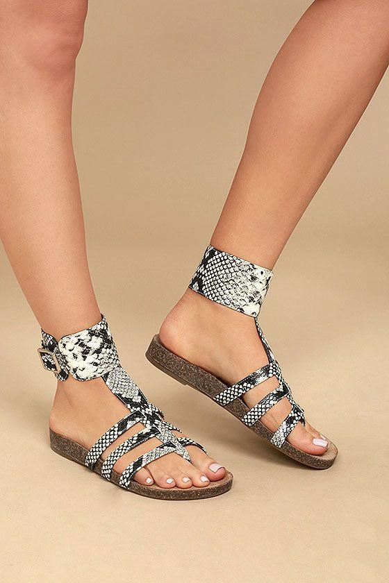 Trendy Summer Flat Sandals