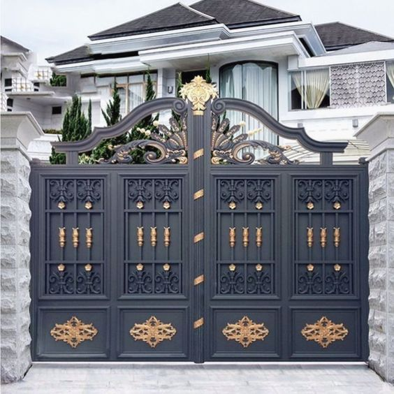 Source top-selling galvanized cheap garden gates design for sale on.