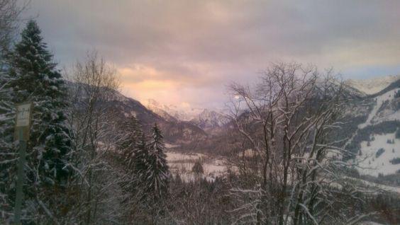 Bilderbuchmotiv #allgäu, #alpen, bad hindelang