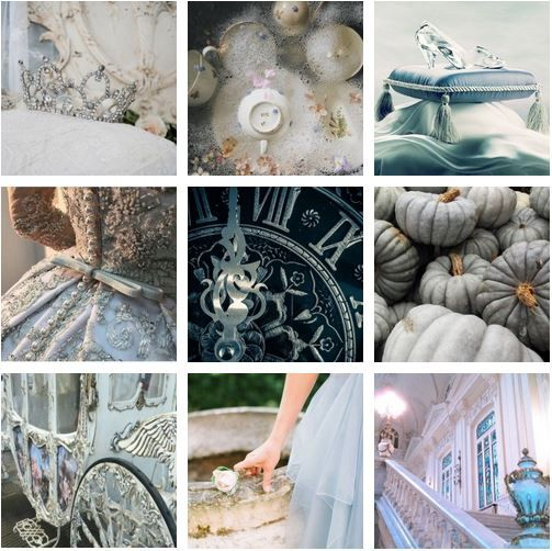 Have Courage And Be Kind Fairy Tale Moods Cinderella Moodboard