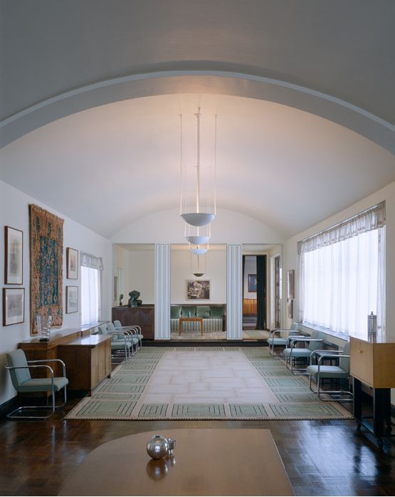 Saarinen House | Cranbrook Academy of Art | 39221 Woodward Ave, Bloomfield  Hills, Michigan