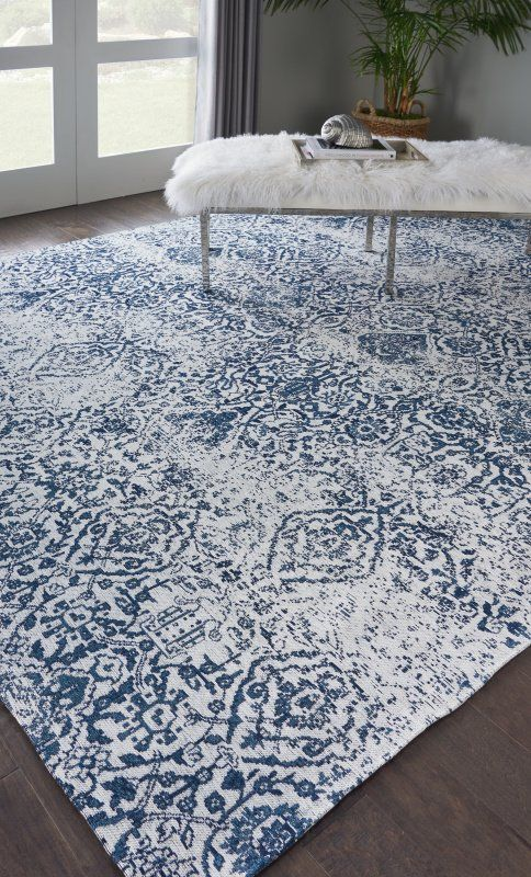 Pin By Debbie Bailey On New Home In 2020 Blue Rugs Living Room Blue Living Room Decor Area Room Rugs