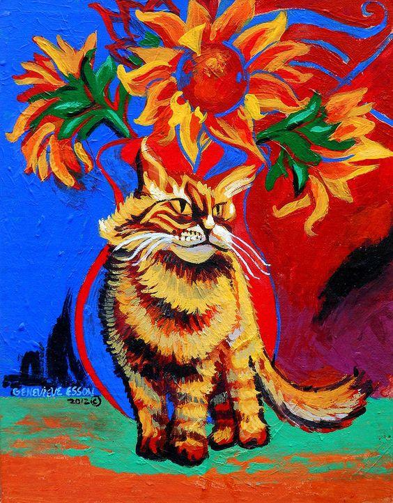 Image detail for -Natasha Painting by Genevieve Esson - Natasha Fine Art Prints and ...