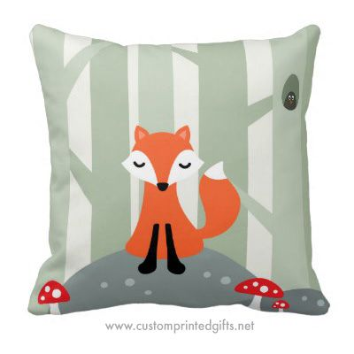 Cute Pillow For Kid : Cute pillows, Foxes and Cute fox on Pinterest