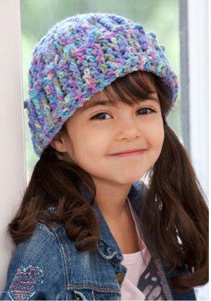 cotton candy cap crochet #pattern: Kids Hats, Crochet Knitting, Hat Crochet Patterns, Free Pattern, Crochet Hats, Crocheted Hats, Red Heart, Crochet Kids