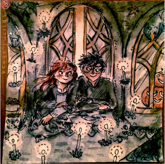 A Ginny and Harry for inktober