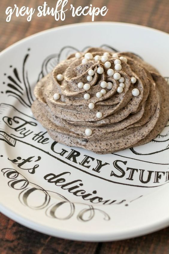 """Disney World's """"Grey Stuff"""" recipe - Easy to make -  Tastes just like the recipe from the Be Our Guest restaurant"""