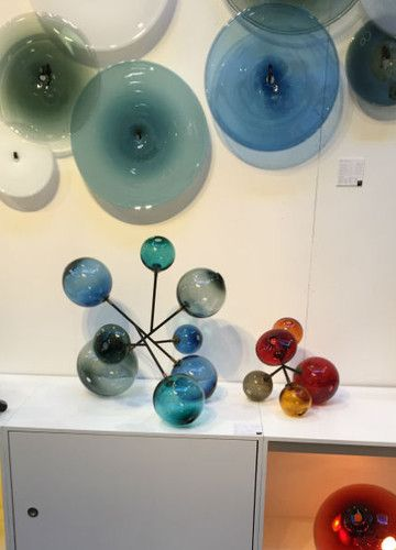 Glas-Skulptur von Sklo