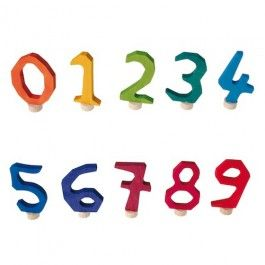 Waldorf Birthday Ring Numbers for Wooden Birthday Ring.