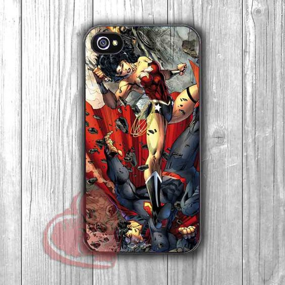 Superman Wonder Woman Fight - zzd for iPhone 4/4S/5/5S/5C/6/6+s,Samsung S3/S4/S5/S6 Regular/S6 Edge,Samsung Note 3/4