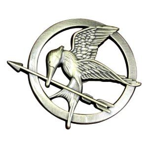 The Hunger Games Movie Mockingjay Prop Rep Pin $14.99