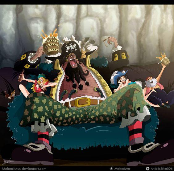 One Piece 925 Kurohige By Melonciutus Anime One Piece Barba