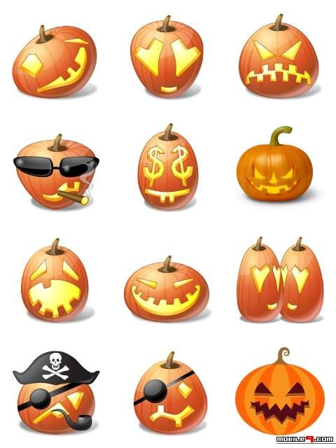 Halloween Emoticons - Halloween Chat Stickers for Whatsapp, LINE ...
