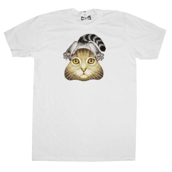 Rad   Splat Cat Tee Wowch