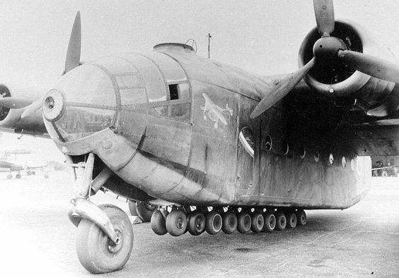 The Ar 232 design resulted from a tender offered by the Reichsluftfahrtministerium  in late 1939 for a replacement for the Ju 52/3m transport. Both Arado and Henschel were asked for rear-loading designs powered by two 1,193 kW (1,600 hp) BMW 801A/B radial engines, which was just entering prototype production and not currently used on any front-line designs. The Arado design beat out Henschel's after an examination of the plans, and an order for three prototypes was placed in 1940.