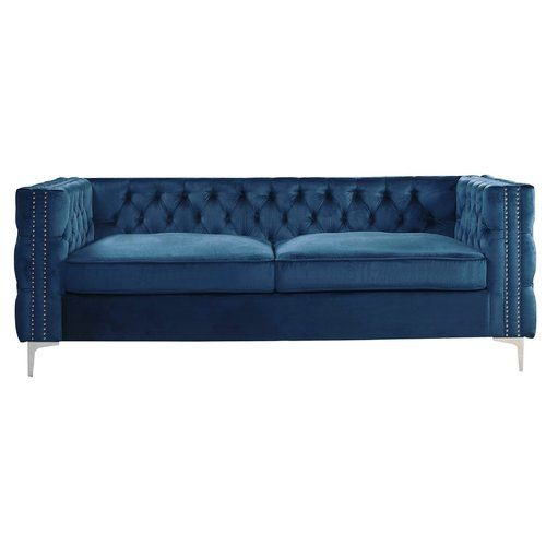 Belle Fierte 3 Seater Chesterfield Sofa Wayfair Co Uk Chesterfield Sofa Sofa 3 Seater Sofa Bed
