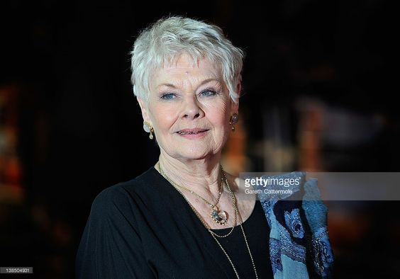 Dame Judi Dench attends the World Premiere of 'The Best Exotic Marigold Hotel' at The Curzon Mayfair on February 7, 2012 in London, England.