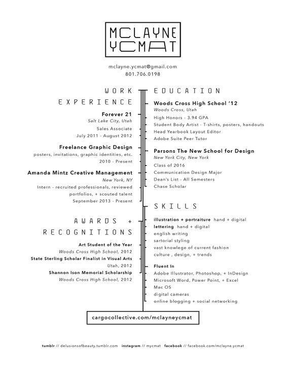 Graphic Language Traffe Two Pinterest Perspective - forever 21 sales associate sample resume
