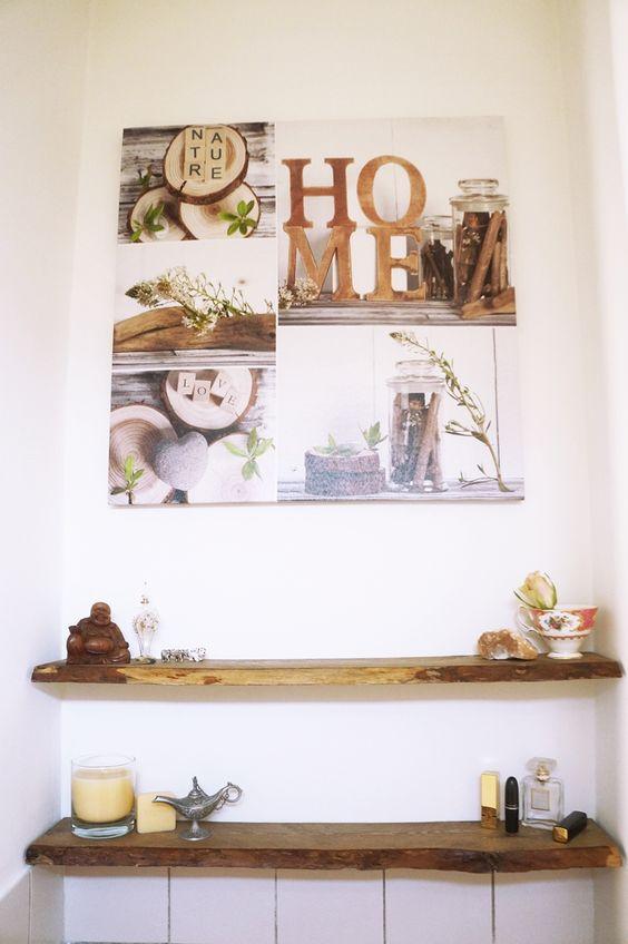 Wandplank Voor Keuken : DIY-wood-houten-wandplank-hout-plank-beautyill-robuust (20) Diy huis