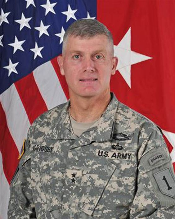 The Army did not disclose details about the investigation into Maj. Gen. Wayne Grigsby. Grigsby assumed command of the base in August 2015.