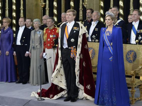 Our new King Willem Alexander I  Coronation in Amsterdam on 30 april 2013
