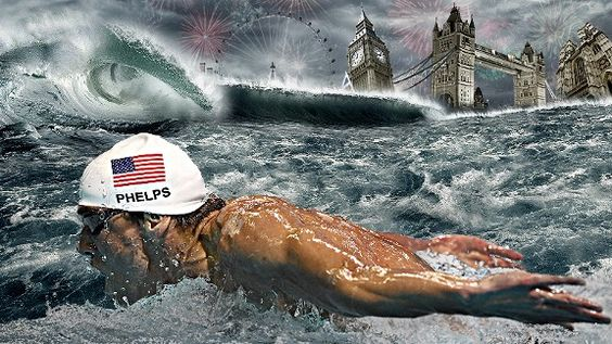 Michael Phelps is going to DO WORK in London...