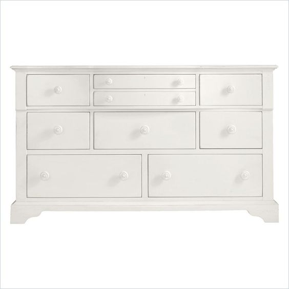 Coastal Living Retreat-Getaway Dresser in Saltbox White - 411-23-05 May consider for guest room.