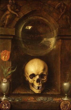 """""""Vanitas still life"""". 1603. Jacob de Gheyn:"""
