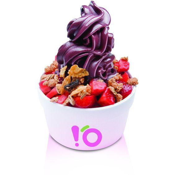 Açaí frozen é sobremesa saudável e energética ❤ liked on Polyvore featuring food