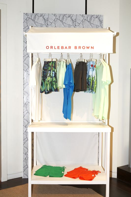 Pop-up Orlebar Brown at Santa Eulalia store. Passeig de Gràcia 93, Barcelona