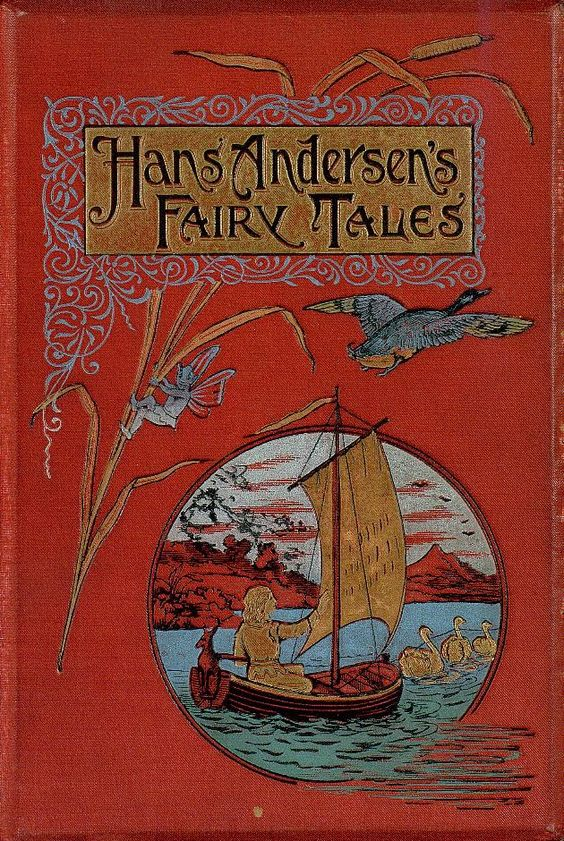 """""""Hans Andersen's Fairy Tales"""" (1895) Published By Frederick Warne & Company"""