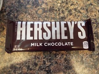 Click for a recipe using Hershey's milk chocolate